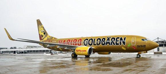 die TUIfly HaribAIR2 Boeing 737