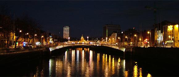 Dublin an der Liffey