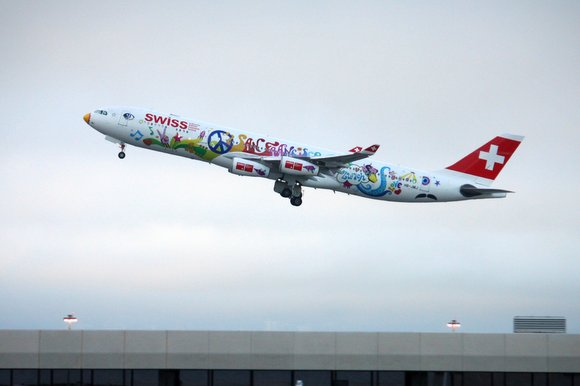 Swiss flower Power Airbus