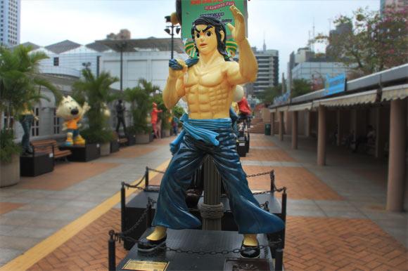 Comic Bruce Lee