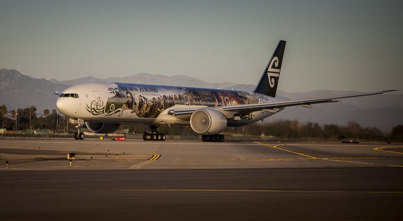 Air New Zealand Boeing 777 Hobbit