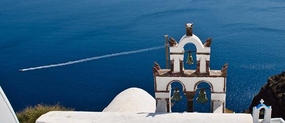 Griechenland: Szene auf Santorini