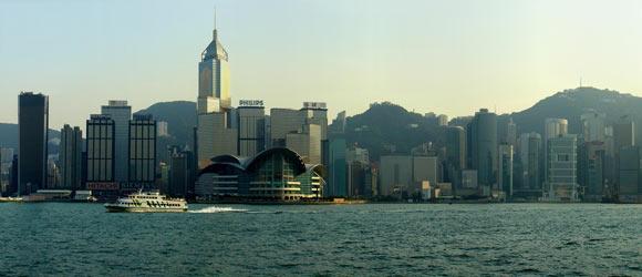 Hongkong der Hafen