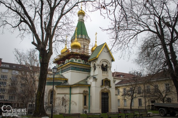 Russische Kirche Sweti Nikolay