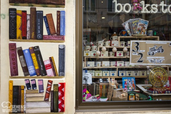 Buchladen Tsar Shishman street