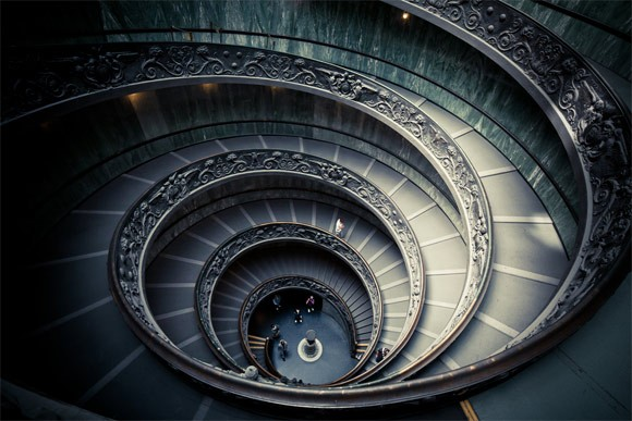 Vatikanische Museen Spiraltreppe